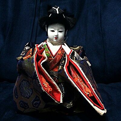 Beautiful Figurine Japanese Doll Traditional Vintage Collectibles Statue