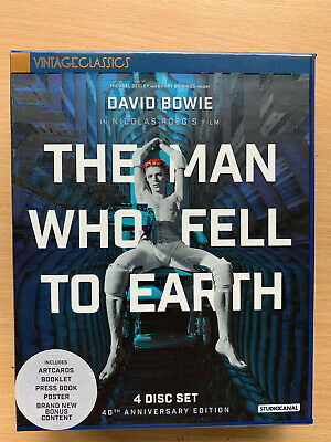 The Man Who Fell To Earth Blu-Ray DVD+CD Limited Edition Box Set David Bowie