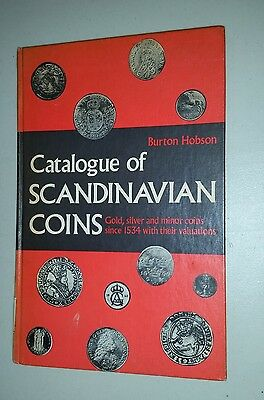 1970 Scandinavian Coins: Gold, Silver & minor coins hardcover Book  128 pages