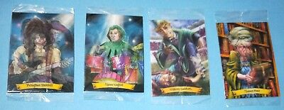 4 x Harry Potter hologram cards all MIP, As New