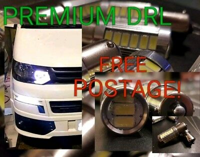 Premium LED DRL and SIDELIGHT Package. Transporter T5.1 and T6 CANBUS ERROR FREE