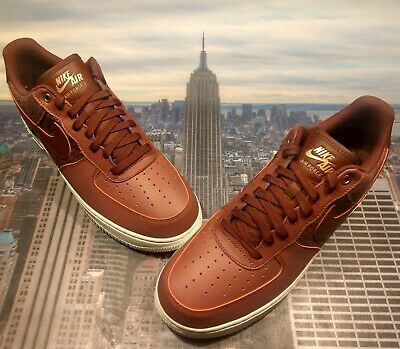 Nike Air Force 1 Low '07 LV8 Port/Dark Team Red Mens Size 13 823511 602 New
