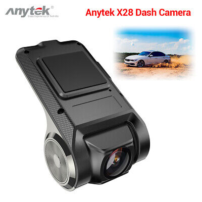 Anytek X28 FHD 1080P 150°FOV WiFi Car Dash Cam DVR Video Camcorder ADAS G-sensor