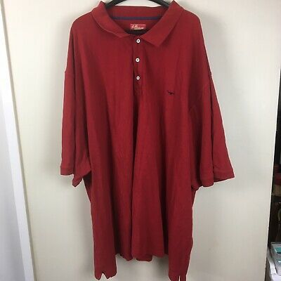 RM Williams 5XB Red Polo Shirt