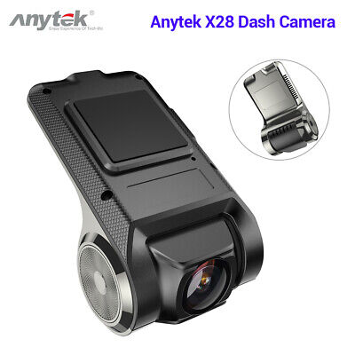 Anytek X28 FHD 1080P WiFi Car Dash Cam Camcorder DVR G-sensor Motion Detection