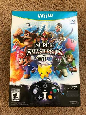 Super Smash Bros. Wii U Limited Edition (2014) - Brand New Sealed - NFR