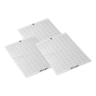 "3*Replacement Cutting Mat Adhesive 12"" f/ Silhouette Cricut Explore Machine H7G9"