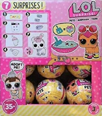 L.O.L. SURPRISE Series 3 Wave 1 Pets - LOL Surprise Pets - Choose Quantity NEW