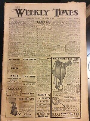 The Weekly Times - Melbourne Newspaper Sat Dec 16 1933