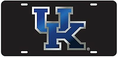 1b2e1a2ab48 UK KENTUCKY WILDCATS Black Mirrored License Plate   Car Tag -  24.95 ...