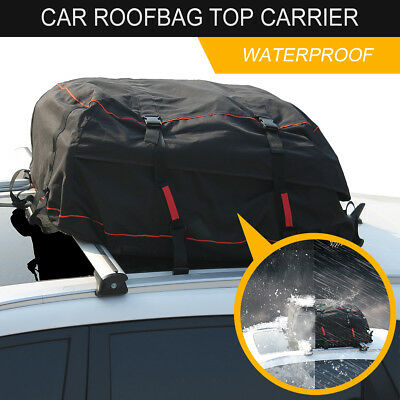 Roof Bag Explorer Waterproof Soft Car Top Carrier For Any Car Van  SUV Outdoor