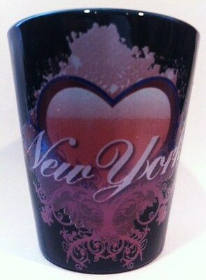 New York Heart Design Shot Glass Shotglass