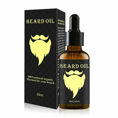 Men Beard Moustache Essential Oil Moisturizing Fast Growth Nourishing Oil OU