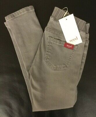 Seed Heritage - Girl's Grey Skinny Jeans - Size 4