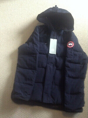 Canada Goose - MENS Macmillan Parka. Brand New. Admiral Blue Colour. LARGE.