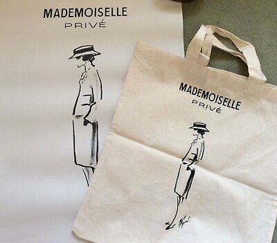 Chanel Mademoiselle prive Tote bag and Poster
