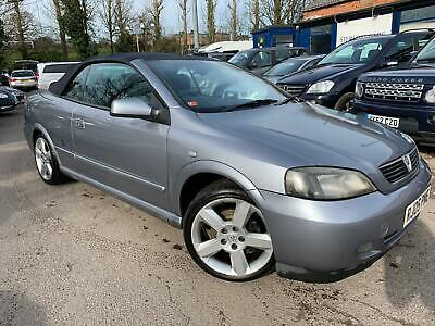05 Vauxhall Astra Bertone Exclusive Cabrio - 1/2 Leather *roof Not Working*