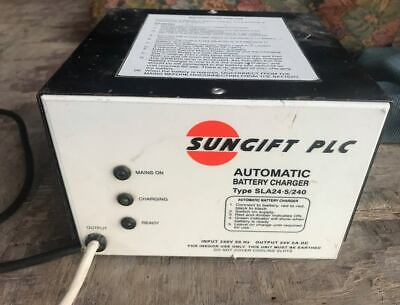SUNGIFT SUN GIFT MOBILITY SCOOTER CHARGER 24v 5A for 8mph SCOOTERS FREE DELIVERY