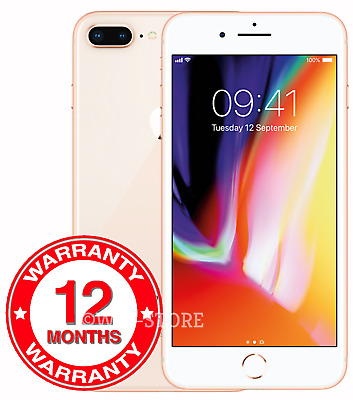 Apple iPhone 8 Plus - 64GB - Gold (Unlocked) A1897 (GSM)