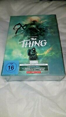 The Thing Blu-Ray 1982+2011 Deluxe MODERN Limited Edition New and Sealed-In Hand