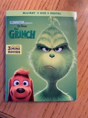 Dr Seuss' The Grinch (Blu-ray Disc only with Slip Cover and Case)