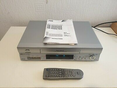 JVC VIDEO S-VHS Super VHS ET CASSETTE RECORDER - HR-S6855 - PAL / NTSC PLAYBACK