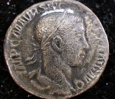 Ancient ROMAN COINS SILVER:  SEPTIMIUS SEVERUS  Military Dictator and Father