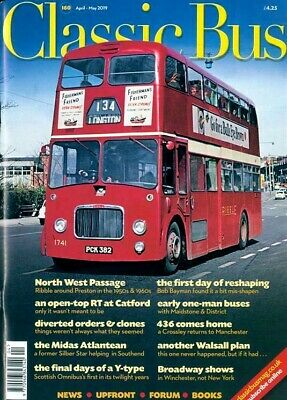 Classic Bus Magazine April / May 2019 ~ New ~