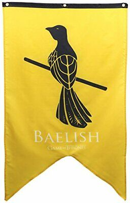 "Calhoun Game of Thrones House Sigil Wall Banner (30"" by 50"") (House Baelish)"
