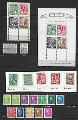 Estonia stamps Collection of 23 stamps + 1 SHEET HIGH VALUE!