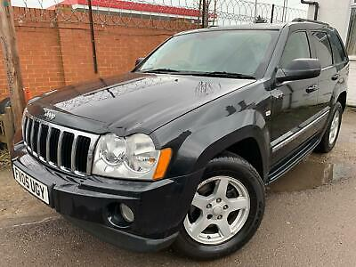 2005 Jeep Grand Cherokee 3.0 Crd Limited *leather, Satnav, 8 Stamps, Lovely Car*