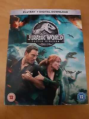 Jurassic World FALLEN KINGDOM - BLU-RAY - Chris Pratt Bryce Dallas Howard (2018)