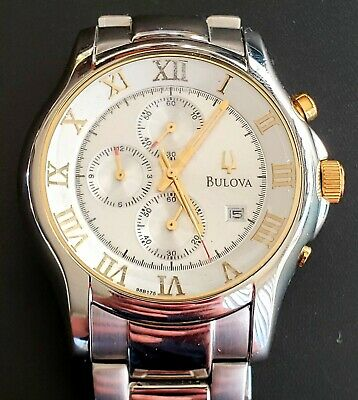 Bulova Marine Star Men's 98B175 SS Chronograph Stainless Steel Bracelet Watch