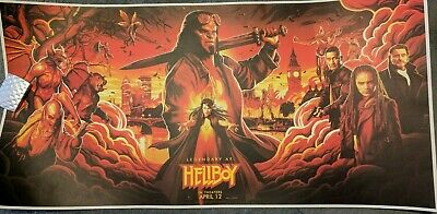 Hellboy NYCC 2018 Poster Official Movie 2019 Exclusive Print Limited