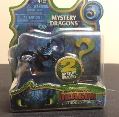 Toothless: How To Train Your Dragon Hidden World Mystery Dragons. New