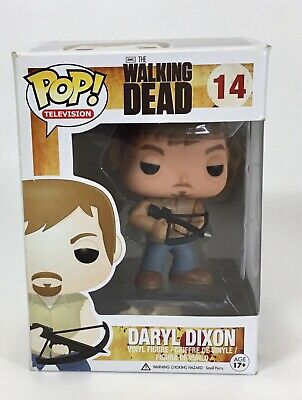 Funko Pop TV: The Walking Dead - Daryl Dixon Vinyl Figure Item #14