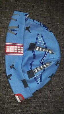 BNWOT Joules Baby Boys Reversible Hat 6-12 months