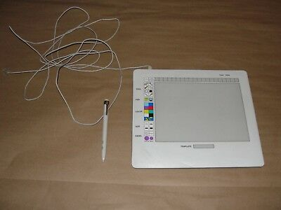 Vintage CalComp 31090 Tablet/Template With Pen