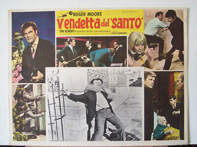 All Detectives & Spies /the Saint/roger Moore/1962/mexican Lobby Card/