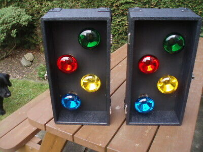 DISCO LIGHTS SET 4s (8 x BULB DISCO LIGHTS) WITH CONTROLLER-  NICE N BRIGHT!