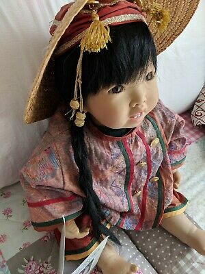 """""""annouk""""limited Edition Collectors Doll (Artist Carines Lossnitzer)"""