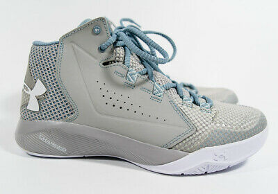 1bb7bfb0275f Under Armour Gray UA Torch Fade Charged Point General Basketball Shoes 8.5
