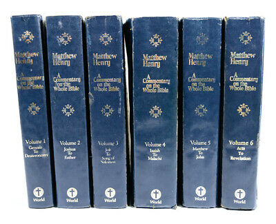 THRU THE BIBLE Commentary Series Books Vols 16-21 Lot Of 6