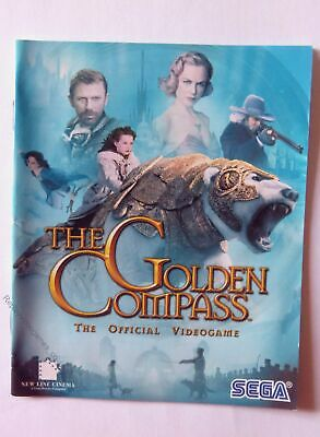 47850 Instruction Booklet - The Golden Compass - Sony PS3 Playstation 3 (2007) B