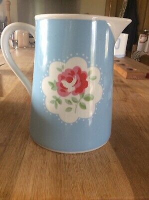 Cath Kidston Blue Provence Rose Ceramic Jug    | LIMITED EDITION |