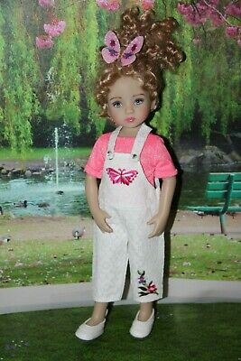 "Outfit FOR Dianna Effner 13"" Little Darling Dolls = Pants Pink T-shirt  =NEW"