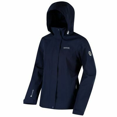Regatta Ladies Womens Calyn Stretch II Waterproof Jacket Coat Navy RWW307