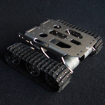 Metal Assembly Shock Absorbed Smart Tank Robot Chassis Car Kit For Arduino