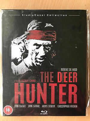 The Deer Hunter 1978 Classic Rare Studio Canal Collection UK Blu-ray Mediabook