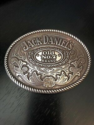 Nice Jack Daniel's Old No. 7 Brand Belt Buckle 2005 Large Numbered
